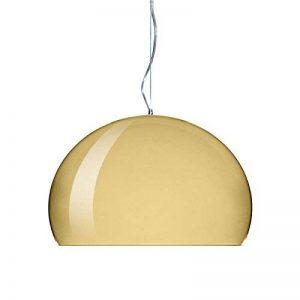 Kartell A + +, Big FL/Y Lampe suspension, Plastique, or, E27 15 wattsW 240 voltsV de la marque Kartell image 0 produit