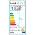 Kartell LIGHT-AIR Lampe, cristal de la marque Kartell image 4 produit