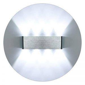 KAWELL Moderne Applique Murale LED Lampe Murale Up Down Alliage D'aluminium Intérieur pour Chambre à Coucher, Couloir, Salon, Escaliers, KTV, 8W Blanc LED de la marque KAWELL image 0 produit