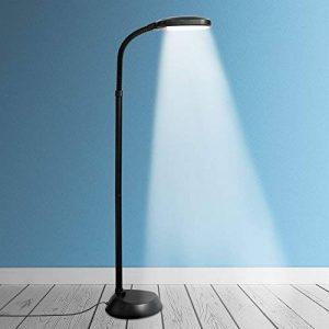 Kenley Lampadaire sur Pied - Ampoule LED 12W Dimmable - Lampe Liseuse avec Lumière du Jour Naturelle - Luminaire de Sol pour Chambre, Bureau ou Salon de la marque Kenley image 0 produit