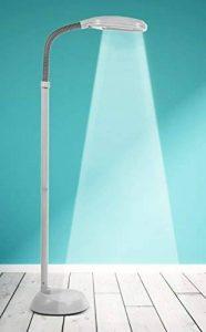 Kenley Lampadaire sur Pied - Lampe Liseuse a Lumière du Jour Naturelle - Luminaire de Sol pour Chambre, Bureau ou Salon - Ampoule 27W jusqu'à 8000 Heures de la marque Kenley image 0 produit