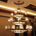 KINGSO Crochet de Plafond Accessoires d'éclairage Lampe Crochet de Lanterne Lustre Décoratif Bronzé de la marque KIGNSO image 1 produit