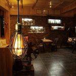 KINGSO E27 Lampe Suspension Lustre Cage en fer Abat-jour avec Douille Eclairage de Plafond Style Industrielle Vintage Retro(sans ampoule) de la marque KINGSO image 2 produit