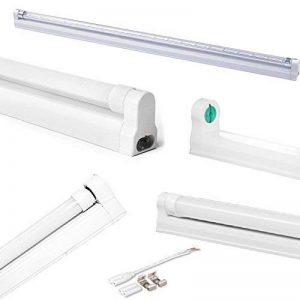 Kit 5Plafonnier Tube Fluorescent pour tubes lED t860cm réglettes empilable en plastique pour plafond, armoire, étagères, cuisines, étagères. de la marque FuturPrint image 0 produit
