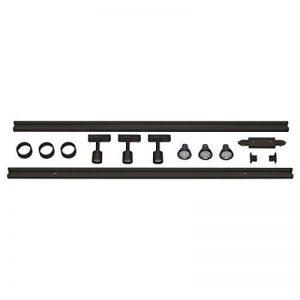 KIT rail 1 allumage PURI, noir , 2x1m, 3x PURI spot et sources LED de la marque SLV image 0 produit