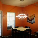 KOONTING Design Circulaire moderne Led Lustre Suspension réglable Lumière Tania Trio Collection Plafonnier contemporain plafond Luminaire bureau, salle à manger, chambre à coucher, Salon ( 110W,blanc naturel 4000K) de la marque KOONTING image 1 produit