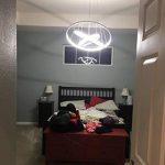 KOONTING Design Circulaire moderne Led Lustre Suspension réglable Lumière Tania Trio Collection Plafonnier contemporain plafond Luminaire bureau, salle à manger, chambre à coucher, Salon ( 110W,blanc naturel 4000K) de la marque KOONTING image 2 produit