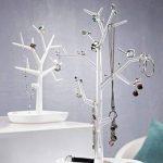 koziol arbre à bijoux [pi:p] L, thermoplastique, blanc avec transparent, 12,8 x 27,6 x 43,8 cm de la marque Koziol image 1 produit