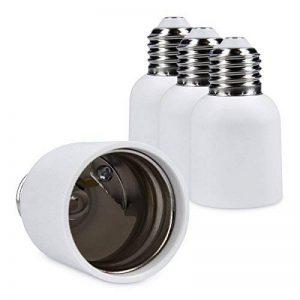 kwmobile 4x adaptateur de douille - Convertisseur de douilles E27 vers E40 - Adaptateur de support de lampe culot E40 pour ampoule LED halogène de la marque kwmobile image 0 produit