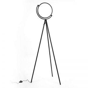 L'Eclipse - Lampadaire LED avec Trépied du Style Contemporain pour Lire dans la Chambre, le Salon ou le Bureau (Noir) 16W de la marque FADACI image 0 produit
