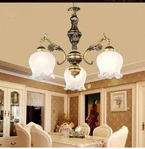 L&KK Plafonnier Pays Style Salon Lustre Chambre Lampe Restaurant Lampes Éclairage,A,10 têtes de la marque L&KK image 0 produit