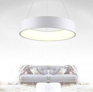 L.Y.Leuchtung Lampe à pende 27 W LED Moderne à Suspension Ronde Design plafonnier plafonnier Blanc Chaud 1850 LM de la marque L.Y.Leuchtung image 0 produit