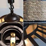 La lumière au plafond, fer à repasser industriel Retro Vintage Loft Lustre plafonnier luminaire lampe de table de la marque FUMIMID image 4 produit