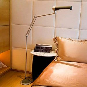 * Lampadaire de salon Fluorescent 13W Eye Reading Piano Light, Modern Simple Bedroom Table Lamp Lampe de chevet Lampe de plancher verticale, Light Confortable Nature, Care Eye * Lampadaire de lecture de la marque DSADDSD image 0 produit