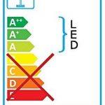 Lampadaire DEL 18 watts luminaire sur pied lampe LED éclairage salle de séjour chambre de la marque EGLO; my light; my style image 2 produit