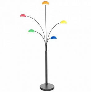 Lampadaire design FIVE multicolore - 5 branches - hauteur 200cm de la marque Quai 56 image 0 produit