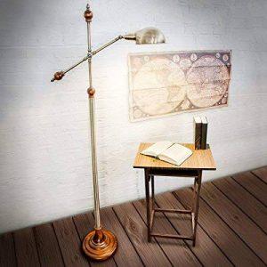 lampadaire design pied bois TOP 1 image 0 produit