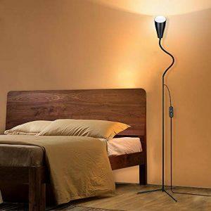 Lampadaire LED 3 en 1, lampe LED flexible à col de cygne avec base C-Clamp et trépied, lampes de lecture réglables en hauteur et en angle, lampe sur pied à économie d'énergie pour salons de la marque PAVLIT image 0 produit