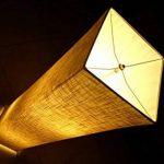 Lampadaire moderne avec des nuances de tissu, Fy-lumière 52 pouces Design contemporain debout LED Lampadaire pour salon, chambre à coucher, maison, bureau(Euro Plug) de la marque Beautihome image 2 produit