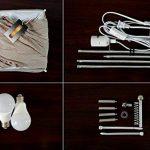 Lampadaire moderne avec des nuances de tissu, Fy-lumière 52 pouces Design contemporain debout LED Lampadaire pour salon, chambre à coucher, maison, bureau(Euro Plug) de la marque Beautihome image 3 produit