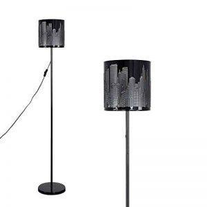 """Lampadaire Moderne Gratte Ciel""""NEW YORK"""". Fini en Noir Brillant de la marque MiniSun image 0 produit"""