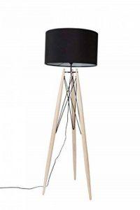 lampadaire noir bois TOP 1 image 0 produit
