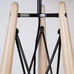 lampadaire noir bois TOP 1 image 3 produit