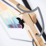lampadaire noir bois TOP 2 image 2 produit