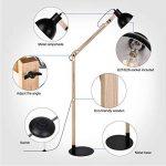 lampadaire noir bois TOP 8 image 4 produit