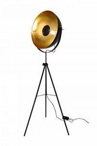 lampadaire noir et doré TOP 0 image 0 produit