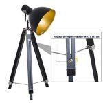 lampadaire noir et doré TOP 9 image 2 produit