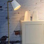 lampadaire pied bois blanc TOP 0 image 4 produit