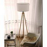 lampadaire pied bois blanc TOP 11 image 3 produit