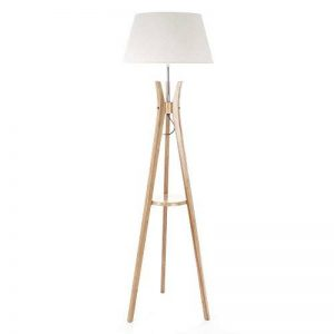lampadaire pied bois blanc TOP 3 image 0 produit