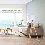 lampadaire pied bois blanc TOP 4 image 4 produit