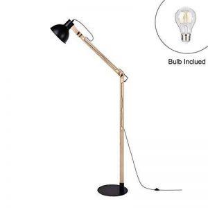 lampadaire pied bois blanc TOP 5 image 0 produit
