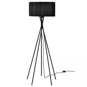 lampadaire pied metal noir TOP 0 image 0 produit