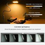 lampadaire sur pied avec Luminosité Réglable, col de cygne 360 °rotatif, fonction mémoire de la marque NACATIN image 3 produit