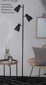 LAMPADAIRE SUR PIEDS LAMPE DESIGN INDUSTRIEL SPOT ORIENTABLE DESIGN DECO NOIR de la marque LIFE DECO image 0 produit