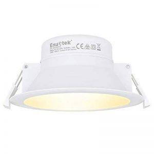 Lampade Faretti a LED da Incasso a Soffitto 14W Illuminazione Buco Φ120MM AC100~240V IP44 per Cucina Bagno Soggiorno (Bianco Freddo 5000K Lot 3) de la marque ENUOTEK image 0 produit