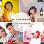 Lampe 3D lune tactile (avec un joli emballage) cadeau créatif lampe de nuit lampe art deco lampe veilleuse pour maison chambre bureau salon avec USB(12CM-mieux pour l'enfant) de la marque Wenscha image 2 produit