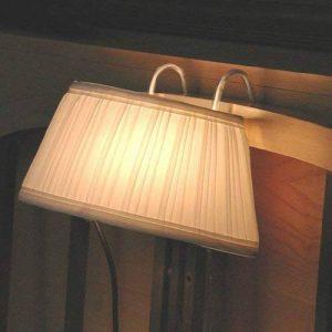 Lampe Abat Jour de Chevet avec Crochets pour Tête de Lit de la marque Générique image 0 produit