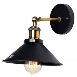 Lampe Applique Murale Métal Style Parapluie Rétro Industrielle Eclairage Suspension Luminaire E27 de la marque U'Artlines image 0 produit