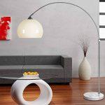 Lampe à arc Design avec socle en marbre - 146-220cm réglable ajustable salon de la marque Deuba image 1 produit