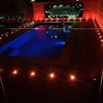 Lampe au Sol Spot Encastrable-Lumière réglable(RGB) étanche IP67 Ø45mm-éclairage pour terrasse, patio, chemin, mur, jardin, décoration, intérieur et extérieur(Lot de 10) de la marque INDARUN image 1 produit