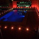 Lampe au Sol Spot Encastrable-Lumière réglable(RGB) étanche IP67 Ø45mm-éclairage pour terrasse, patio, chemin, mur, jardin, décoration, intérieur et extérieur(Lot de 20) de la marque INDARUN image 2 produit