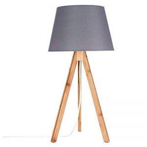 Lampe Bahi gris H55cm de la marque Atmosphera image 0 produit