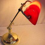 lampe banquier rouge TOP 7 image 1 produit