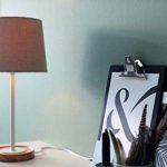 lampe bois blanc TOP 1 image 3 produit