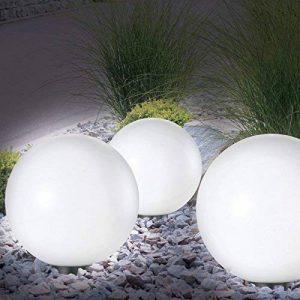 Lampe boule 30 cm solaire design de la marque Probache image 0 produit